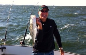 Gary Oster with Rockfish