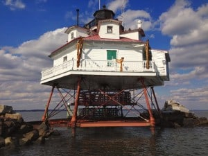 Thomas Point Shoal light station