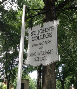 Entrance to St. John's College