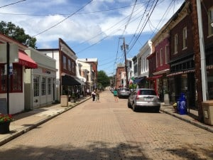 Maryland Avenue in Annapolis