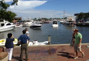 Ego Alley in Annapolis, Maryland