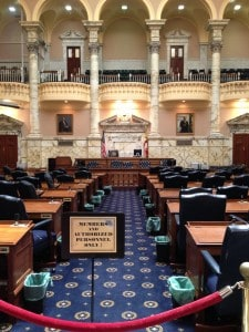 Maryland House of Delegates Chamber