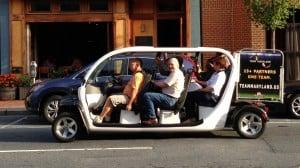 Annapolis eCruiser, an electric car
