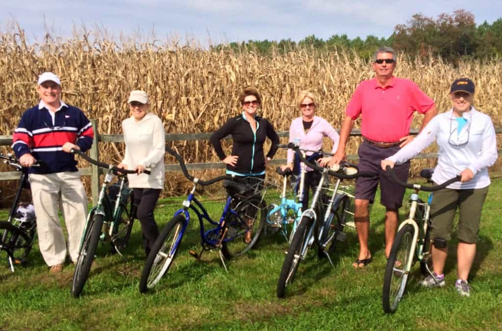 Galena bike ride