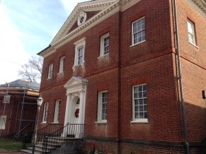 Hammond Harwood House in Annapolis