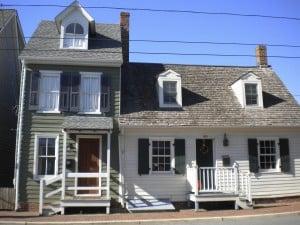 Water Street Houses Circa 1740