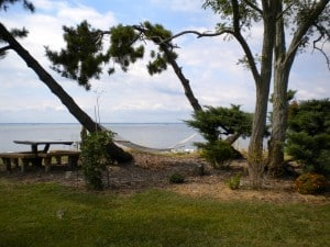 Tilghman Island's farthest point