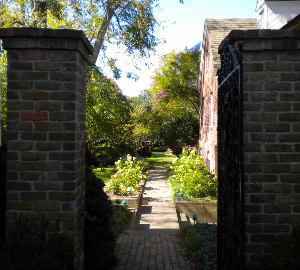 Easton Historical Society Garden