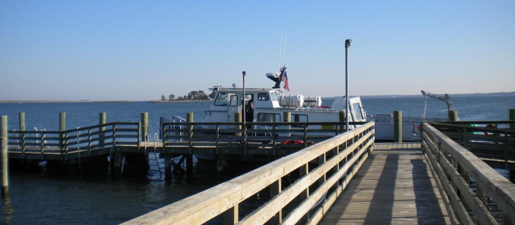 Boat to Poplar Island