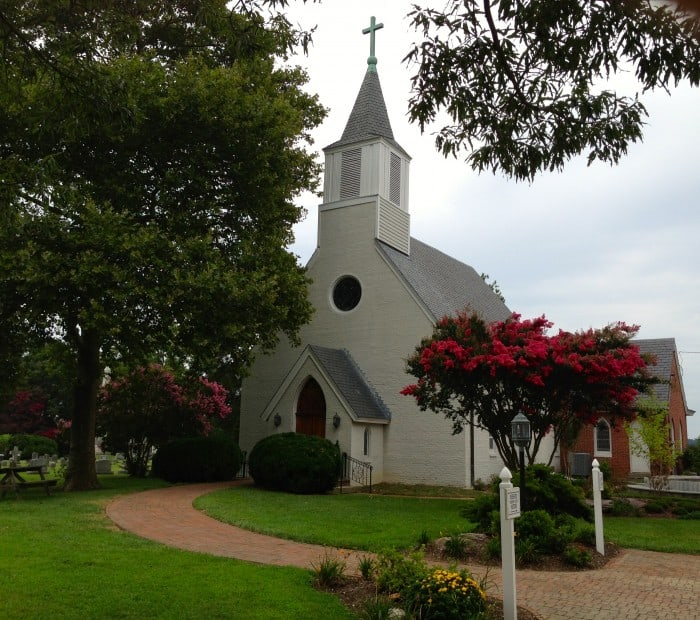 Trinity Episcopal Church in St. Mary's City