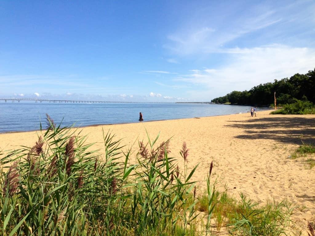 Matapeake public beach, Kent Island