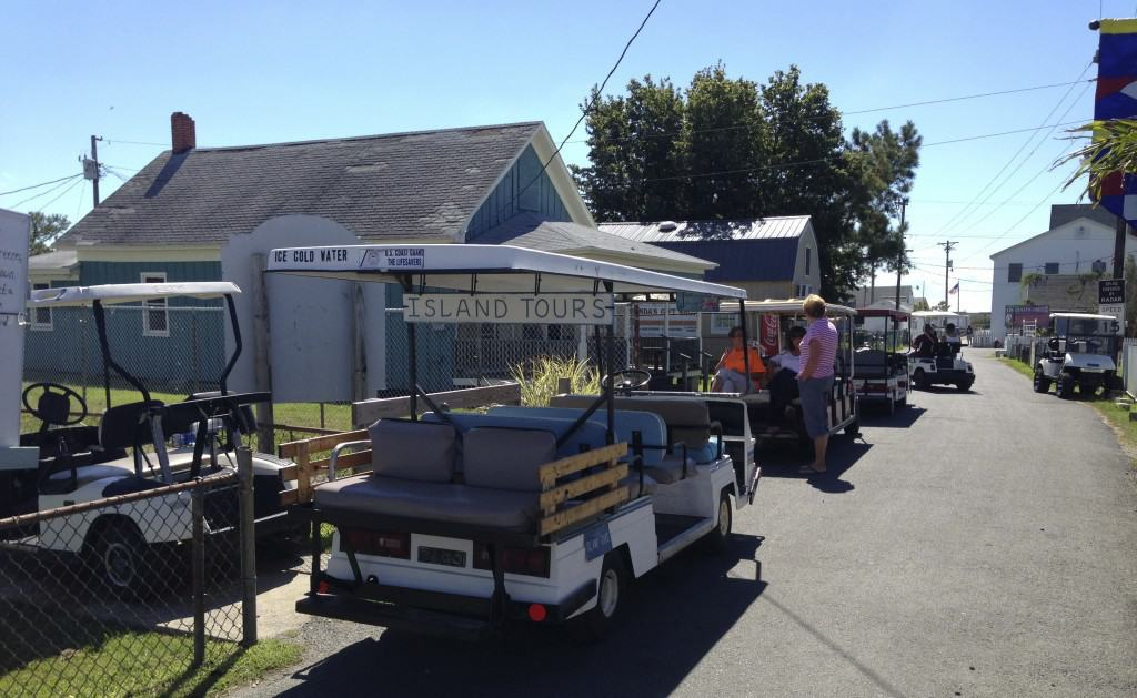 Tangier Island buggy tours