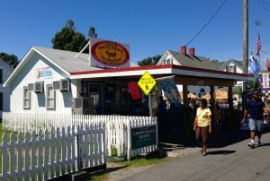 Four Brothers restaurant on Tangier Island