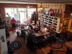 Inside the former general store on Galena's Antique Row