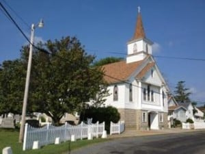 Ewell United Methodist Church on Smith Island