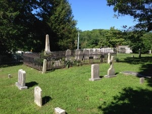 Quaker burial ground in Galesville