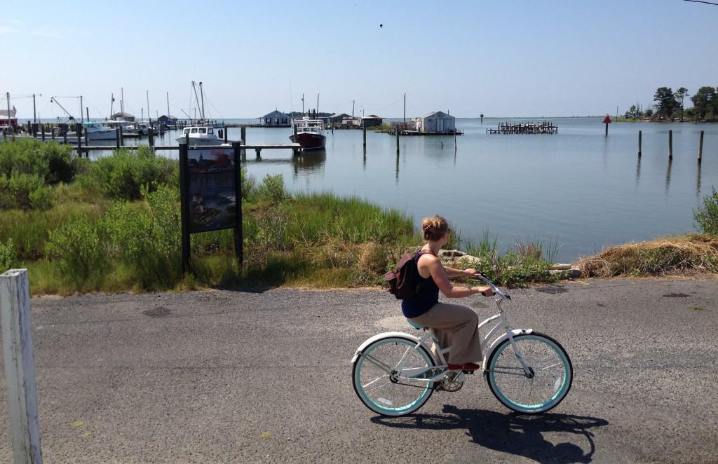 Smith Island cycling