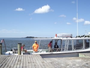 Tangier Island charter ferry