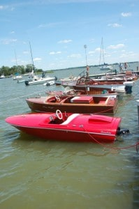 Antique boats at 26th annual Antique & Classic Boat Festival