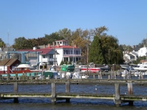 Chestertown from the water