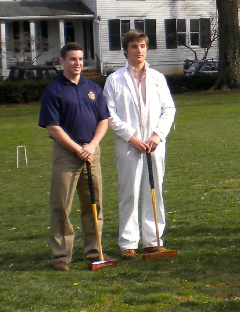 Sam & Ryan, Imperial Wickets of 2014 Annapolis Cup croquet match