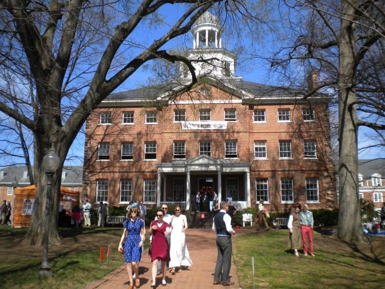 St. John's College campus in Annapolis