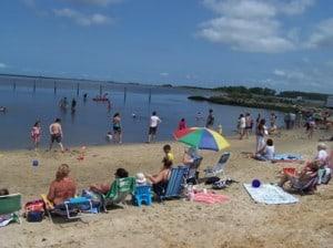 Wellington Beach in Crisfield, MD