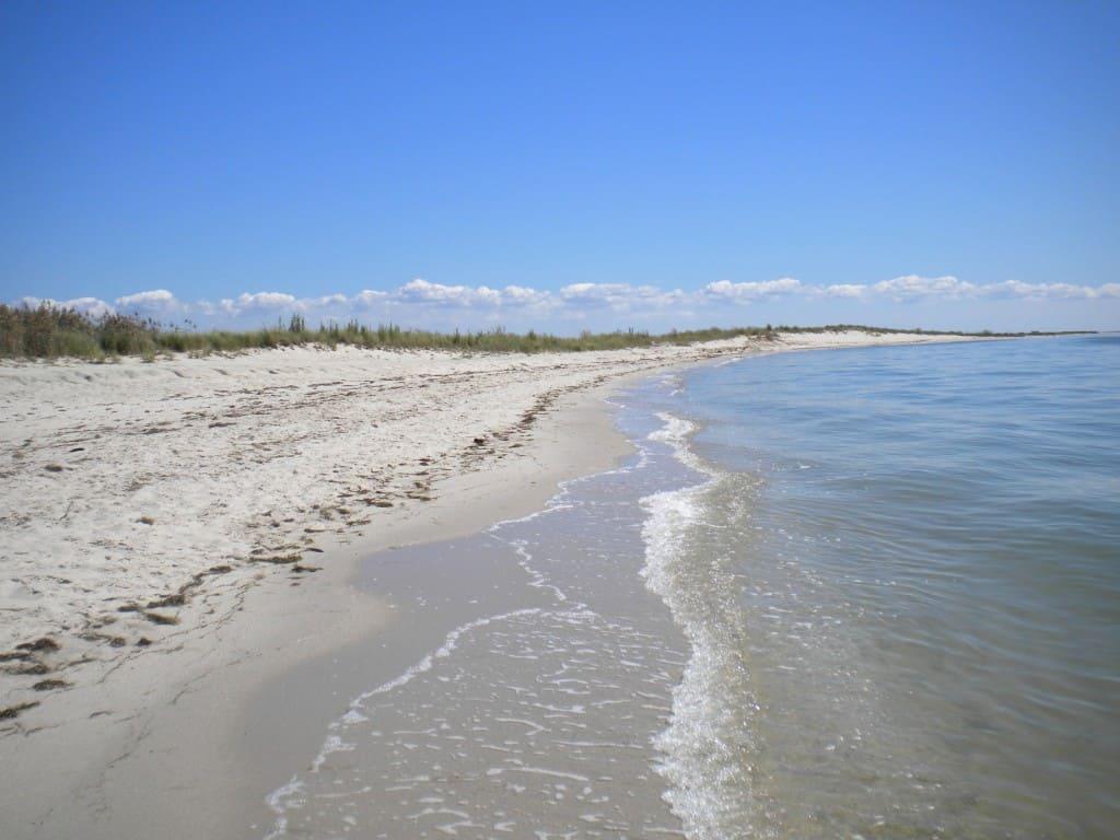 Tangier Island beach