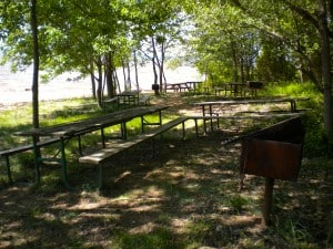Elk Neck State Park beach picnic area