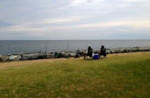 Fishing at Point Lookout State Park