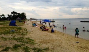 Point Lookout State Park beach, MD