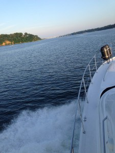 Seasickness on power boats