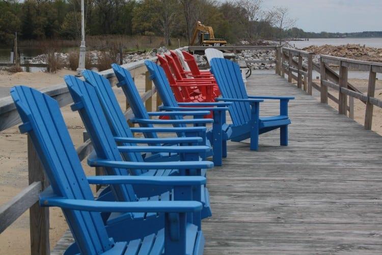 Tolchester Beach boardwalk