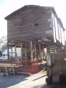 Charles Sumner Post #25 during renovation