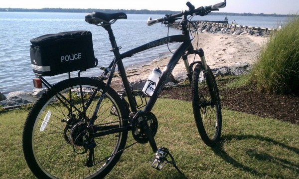 Fuji Police Bike at TriCycle & Run, St. Michael's, MD