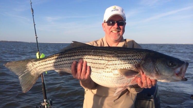 Fishing on Chesapeake Bay