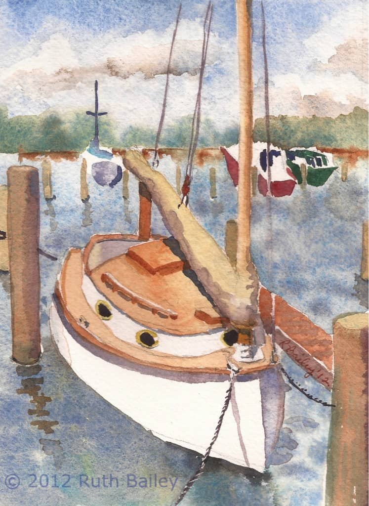 Ruth Bailey - cat boat