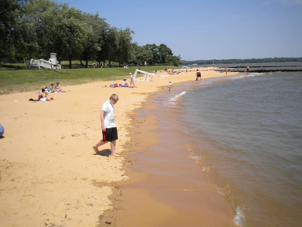 Gunpowder Falls State Park beach