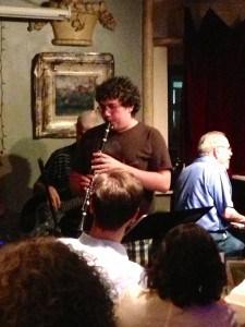 Sam Garfinkel at Starrs Jazz Jam, Annapolis