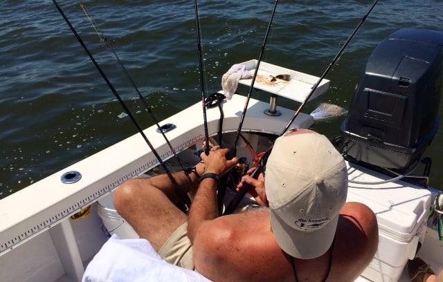 Gary Oster fishing