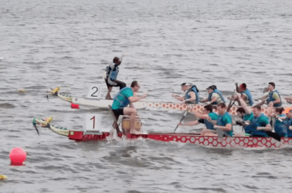 Calvert County dragon boat