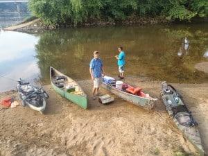 Canoe Fishing
