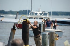 Boat docking contest