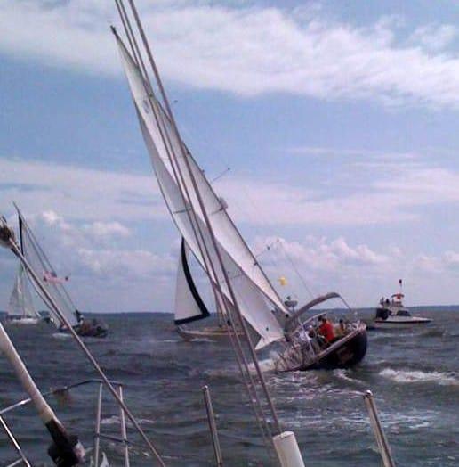 Chesapeake Bay sailing