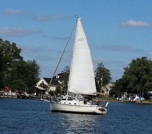 Island Packet 27 sailboat