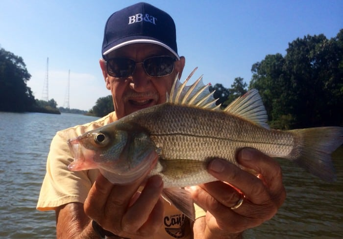 Albert Oster with rockfish