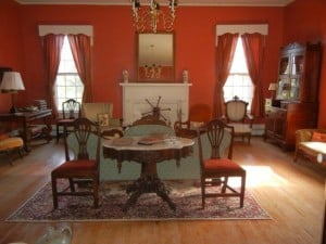 Main parlor of Black Walnut Plantation, Virginia