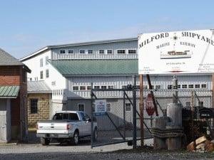 Former Vinyard shipyard