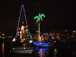 Eastport Yacht Club Lights Parade