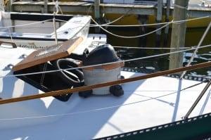 Using shop vac to pump out sailboat